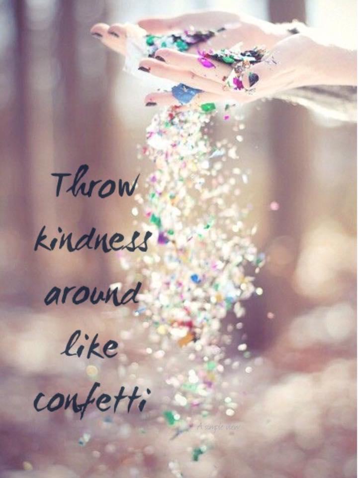 Week 16: Kindness.  Share YourLight.