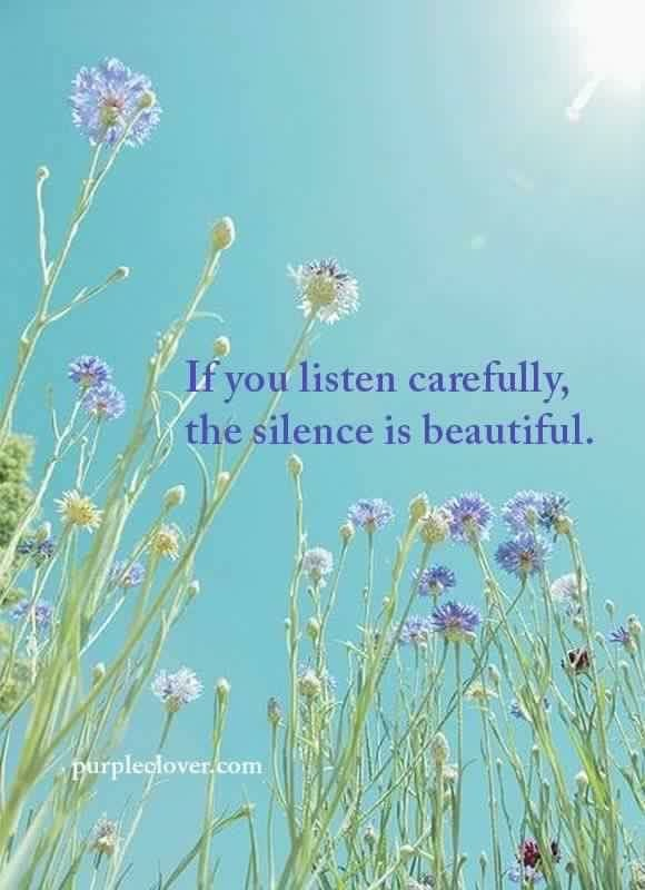 Week 20:  Defining Silence. IAm.
