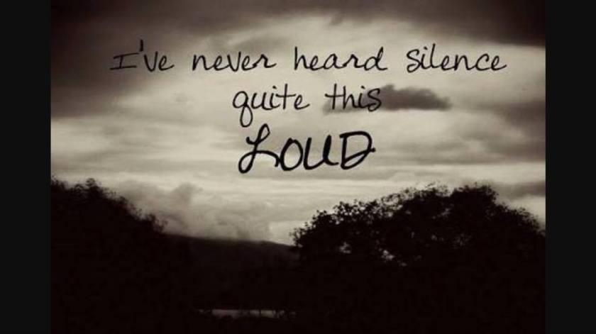 silence-loud